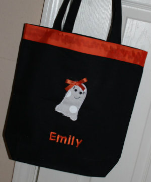 Ghost Halloween bag
