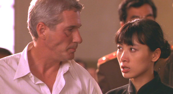 Richard Gere and Bai Ling in 1997's Red Corner