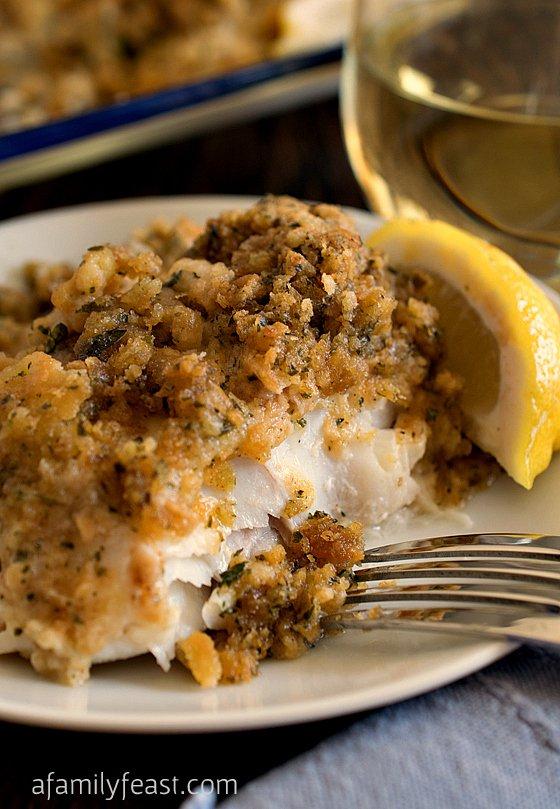 stuffed cod