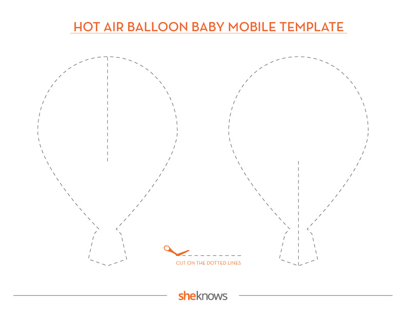 This DIY Hot Air Balloon Mobile Is Perfect for a Baby\'s Room ...