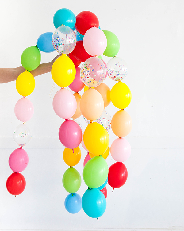 DIY balloon wand