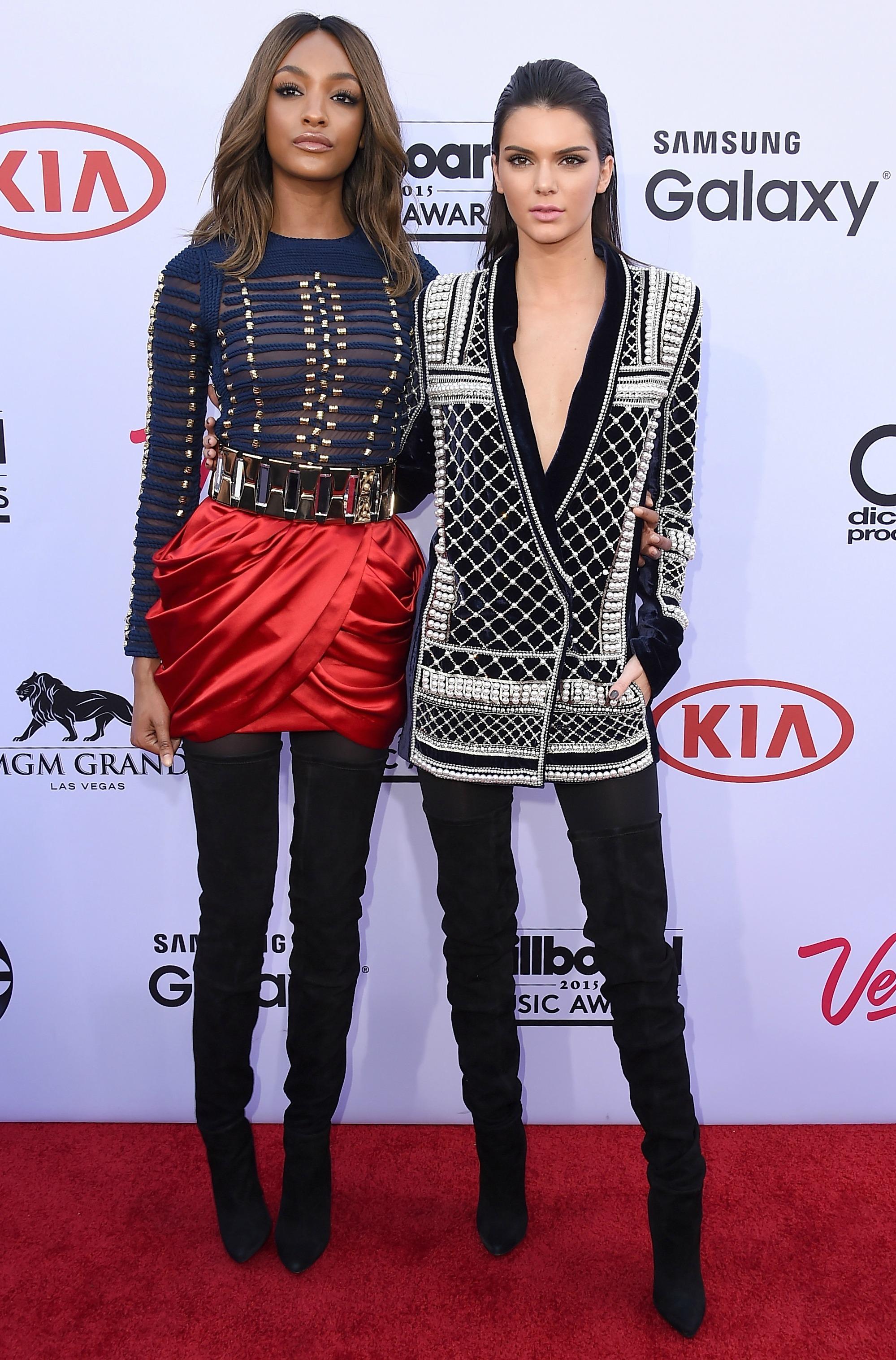 Kendall Jenner and Jourdan Dunn at Billboard Music Awards