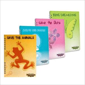 Banana paper notebooks