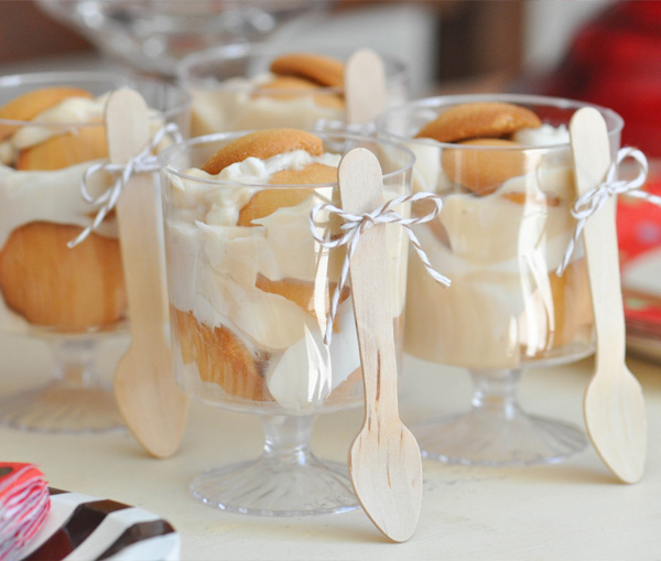 Banana pudding | Sock monkey themed party