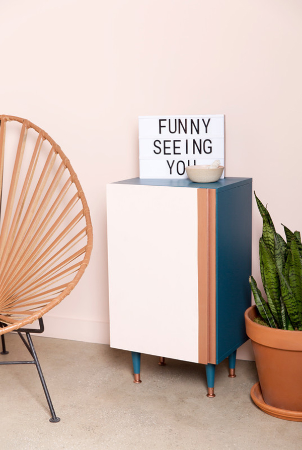Ikea Hacks That Belong In Your Living Room: Chic cabinet frontsBar cart