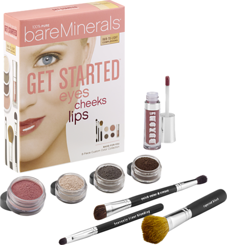 Bare Minerals Get Started for Eyes, Cheeks and Lips