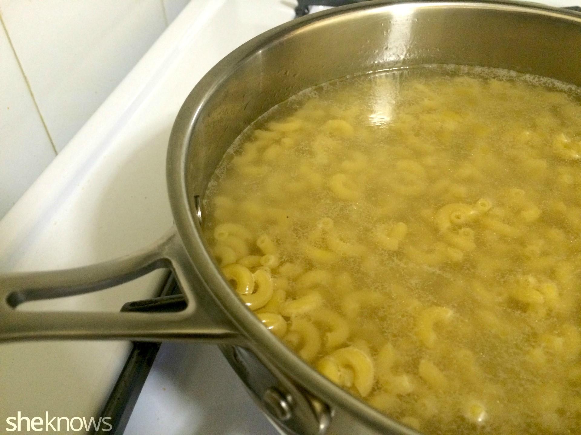 Barilla Pronto cooking