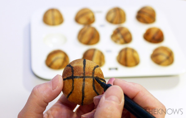Basketball calzones recipe