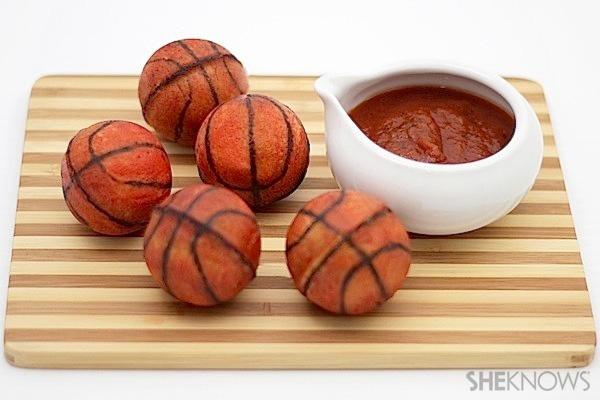 Basketball calzones