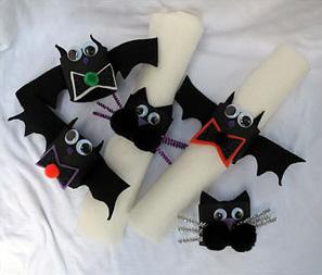 Bats and Cats Craft