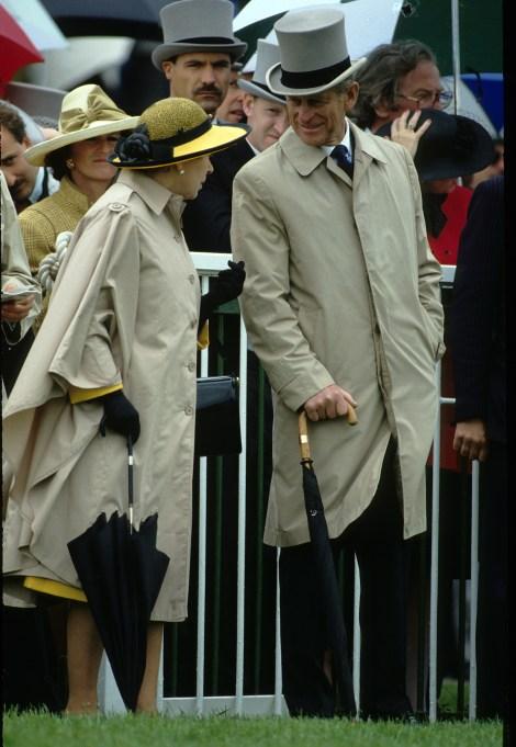 Queen Elizabeth II & Prince Philip in 1980