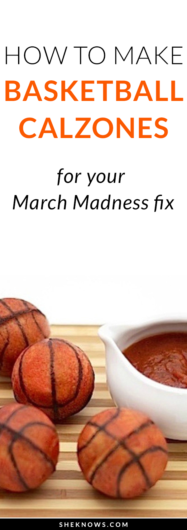 Pin it! Basketball calzones