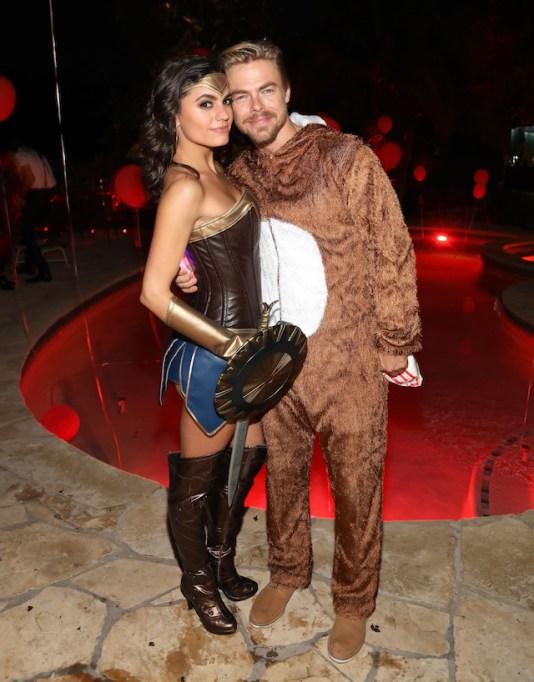 Best celebrity Halloween costumes 2017: Derek Hough