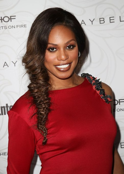 Best Celebrity Braids: Laverne Cox | Celeb Hair Inspo 2017