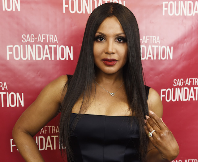 Toni Braxton attends the SAG-AFTRA Foundation Conversations screening and Q&A of 'Faith Under Fire' at the SAG-AFTRA Foundation Screening Room