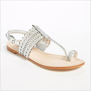 bcbg geometric sandals