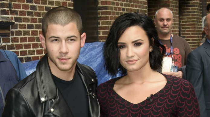 Nick Jonas & Demi Lovato honored