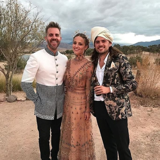 Celebrity Who Wore Unconventional Wedding Dresses: Dianna Agron | Celebrity Weddings