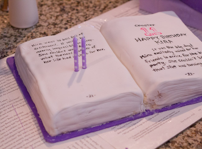 book club birthday party
