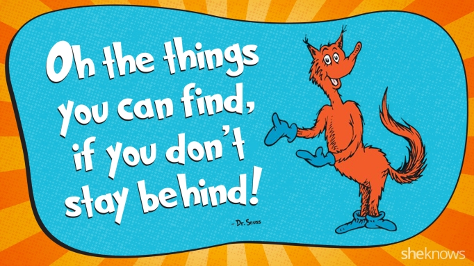 Dr. Seuss - Things you can find