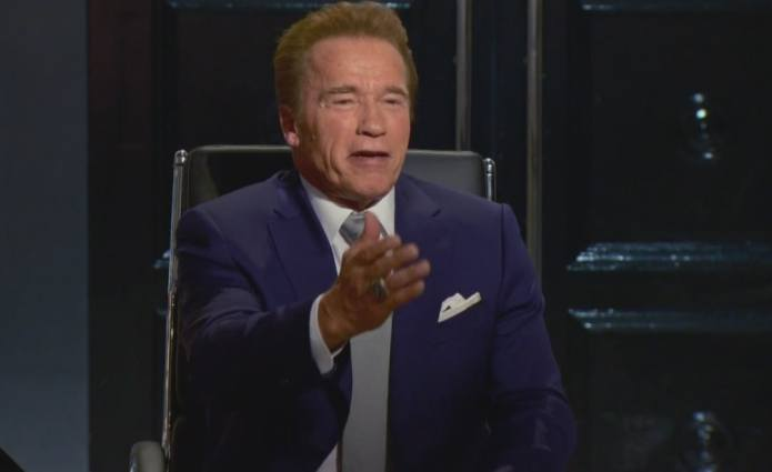Don't discount Arnold Schwarzenegger as the