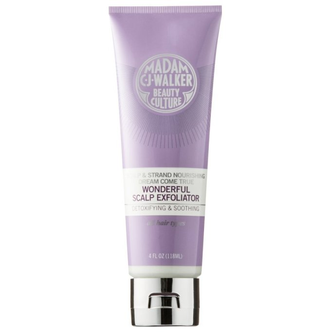 Scalp Exfoliators That'll Cure Your Hair Probs: Madam C.J. Walker Beauty Culture Dream Come True Wonderful Scalp Exfoliator | Fall Hair Care