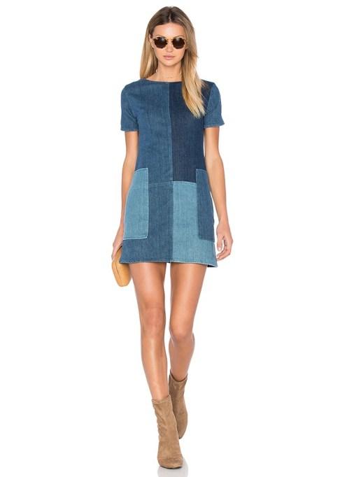 Denim Dresses Are Back: J Brand Luna Shift Dress | Summer Fashion Trends