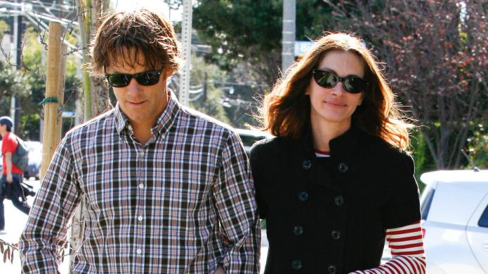 Julia Roberts and Danny Moder pick