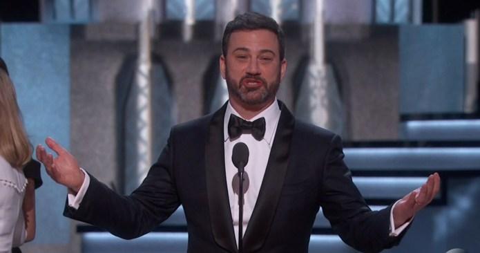 Jimmy Kimmel Tries to Laugh Away