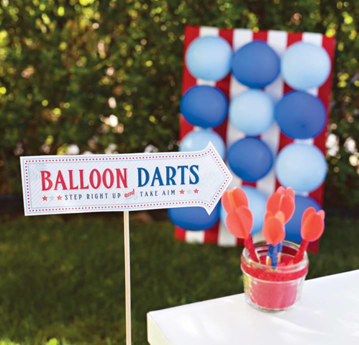 Balloon darts DIY