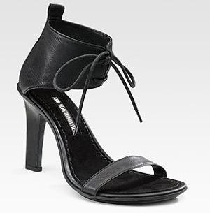 3181d9429 Ann Demeulemeester Ankle Strap Sandals