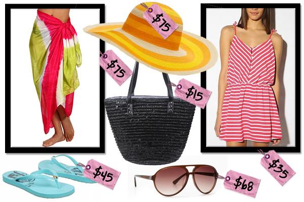 Beach & pool essentials