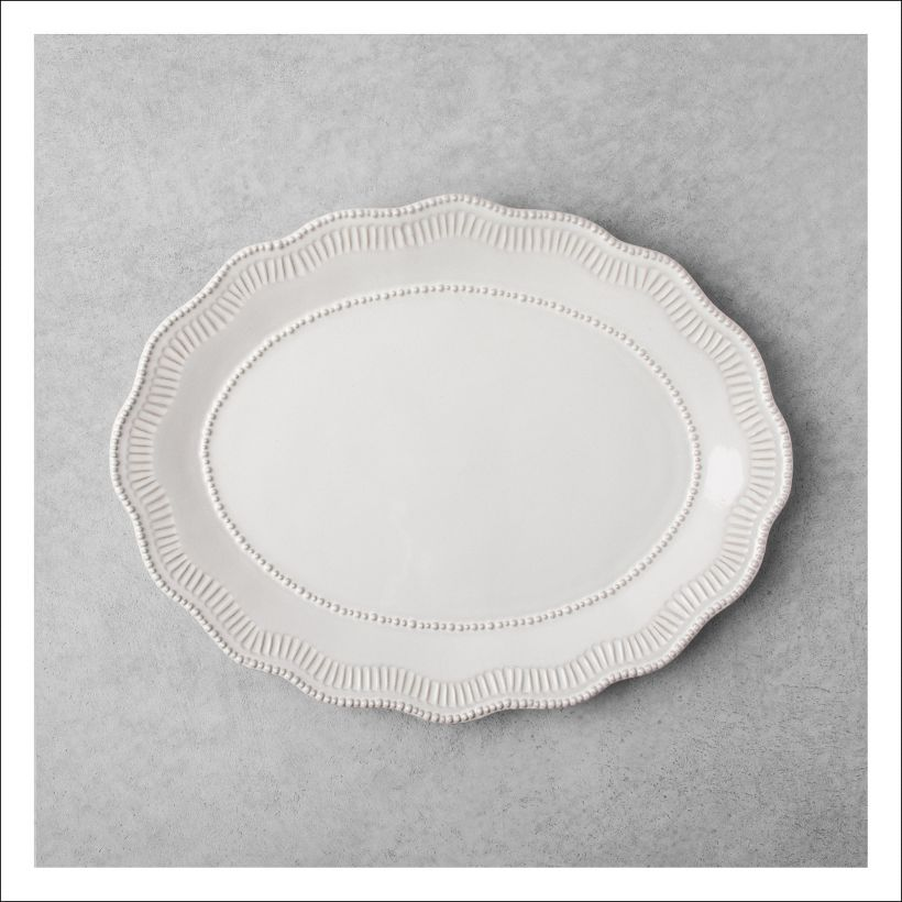 Beaded serveware Hearth & Home Magnolia