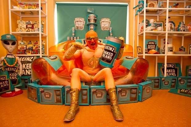 Barry Kirk's bean-themed interior