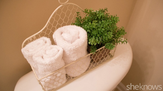 Redo your powder room in one