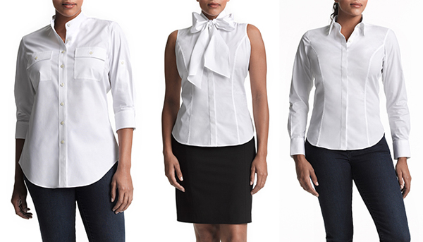InStyle Essentials Perfect White Shirt Collection