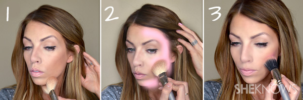 Bronzer: Step by step