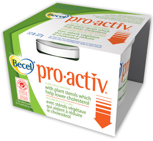 Becel Buttery pro.activ Margarine