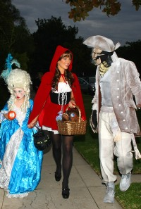 Kate and family love Halloween!