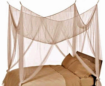 Bed canopy from ShopWildThings.com