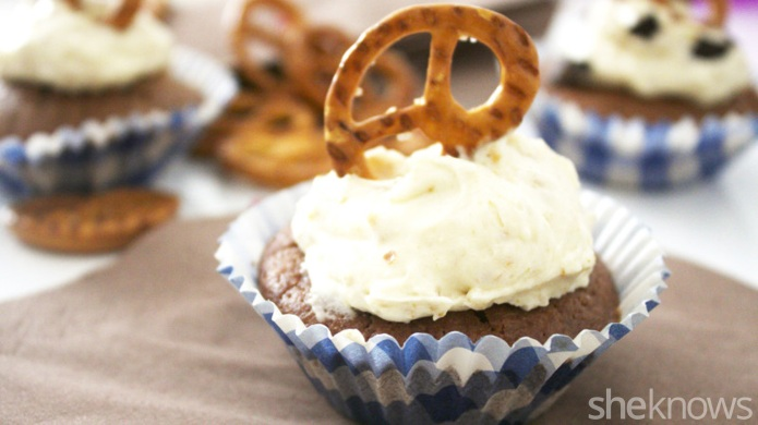 Chocolate and beer cupcakes