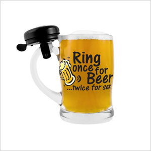 Beer stein with bell