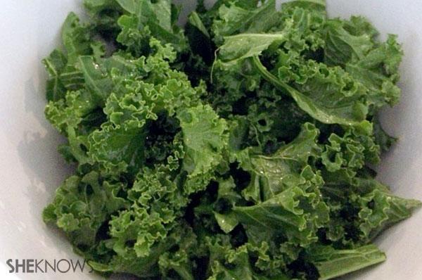 Kale ready in salad dish | Sheknows.ca - step 5