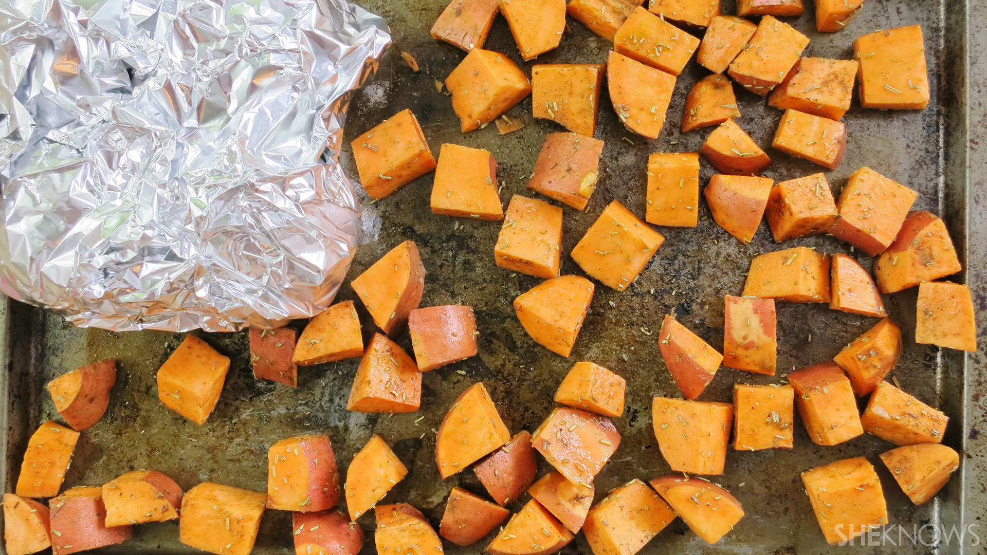 Sweet potato and beet sald | Sheknows.ca - beets and sweet potatoes before cooking
