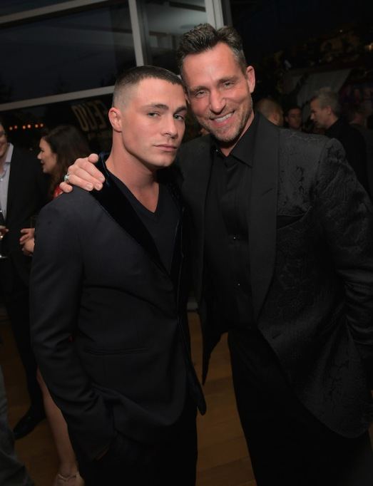 Colton Haynes and Jeff Leatham attend FX Networks celebration of their Emmy nominees in 2017