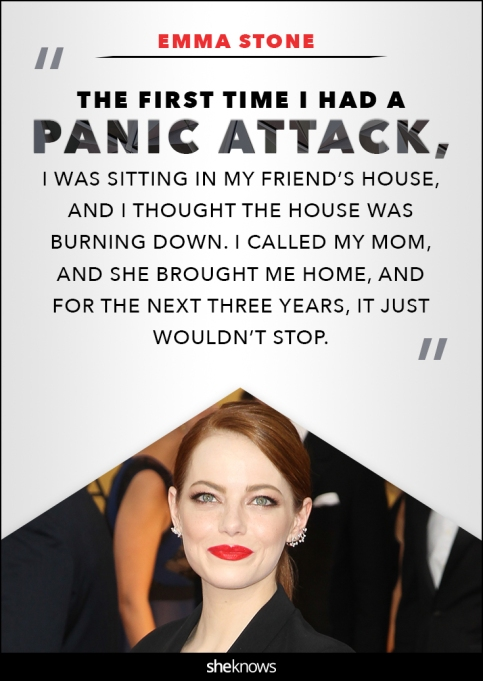 Emma stone anxiety quote
