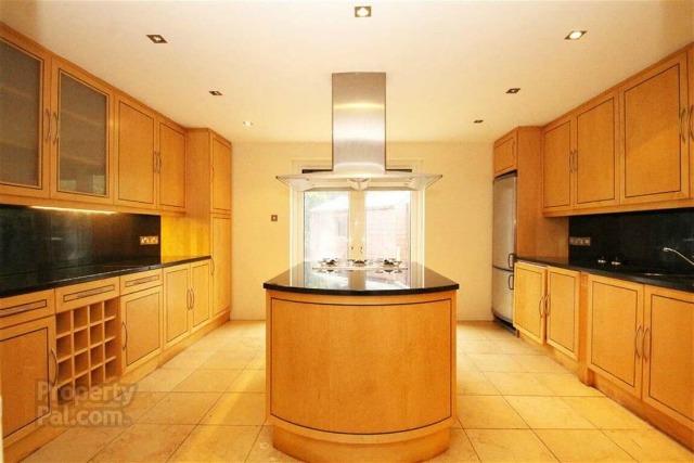Belfast house with amazing interior