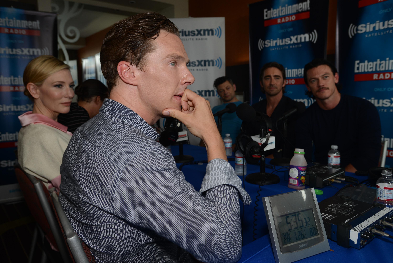 Benedict Cumberbatch, Hobbit panel, Comic-Con.