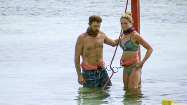 Ben Driebergen and Ashley Nolan ready for challenge Survivor: Heroes Vs. Healers Vs. Hustlers