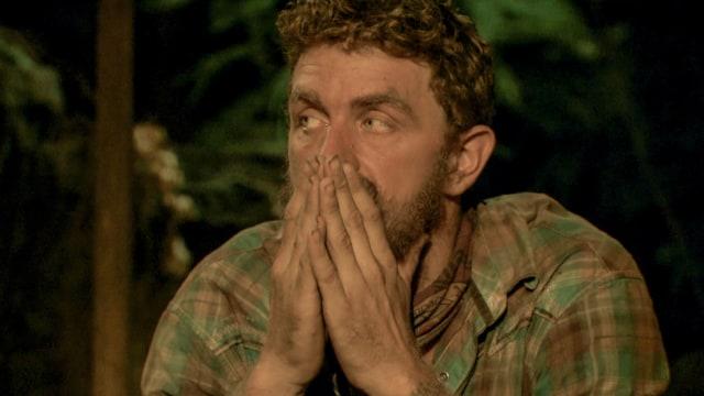 Ben Driebergen nervous at Tribal Council on Survivor: Heroes Vs. Healers Vs. Hustlers